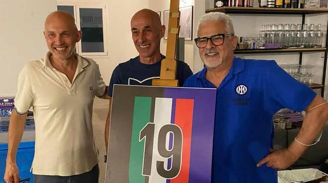 Inter Club Legnano Nicola Berti Festa Scudetto 2021