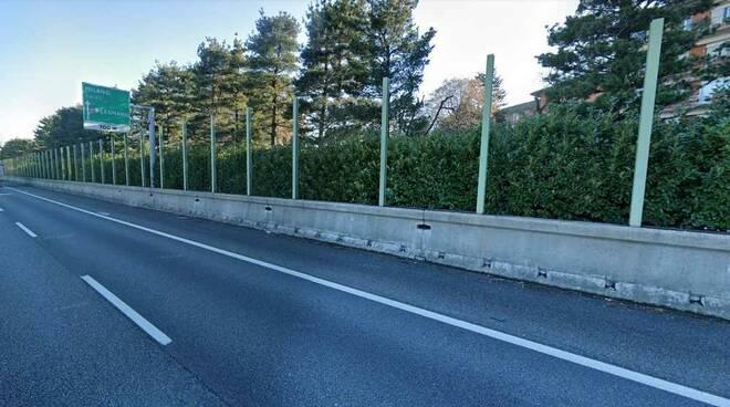 Barriere antirumore uscita Legnano