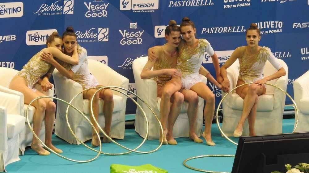 Ginnastica Moderna Legnano Vicecampione d'Italia a squadre