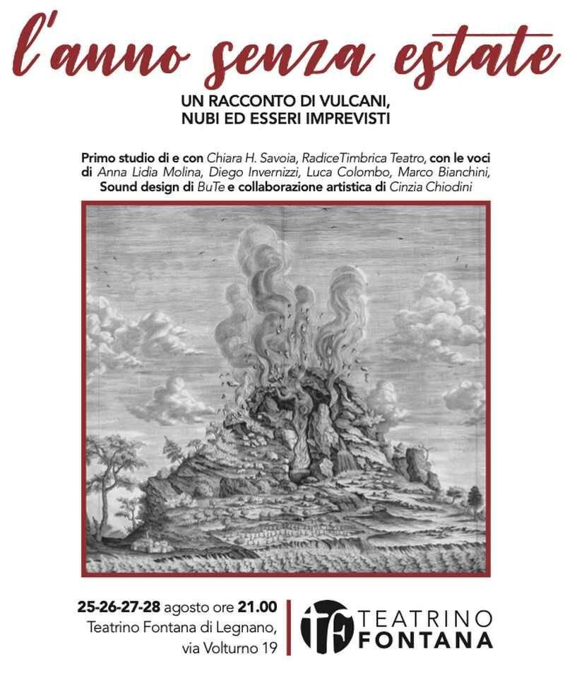Anno senza estate Teatrino Fontana Legnano
