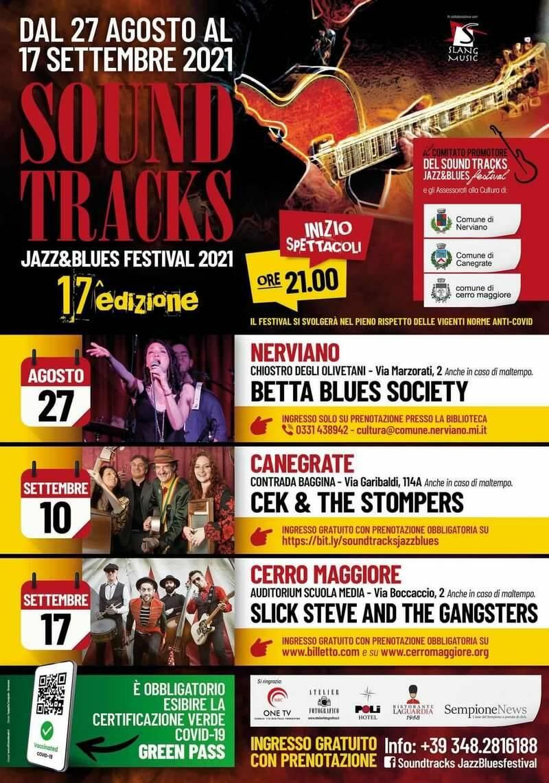 Sound Tracks Jazz & Blues Festival 2021