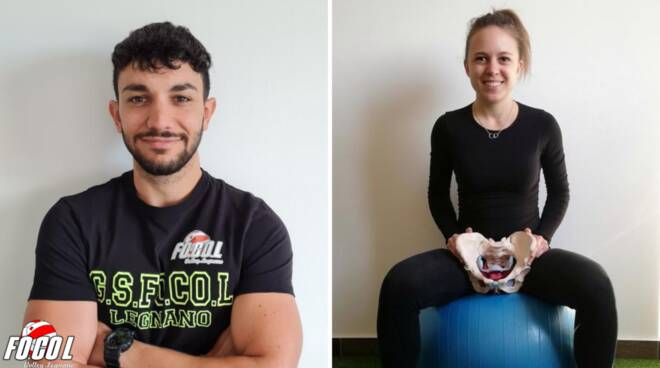 Valerio Povia e Chiara Pozzi