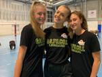 Elisa Broggio, Ludovica Bonato e Beatrice Venegoni