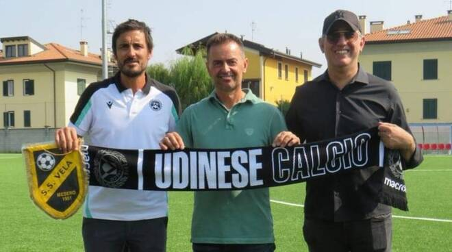 Vela Mesero Udinese Academy