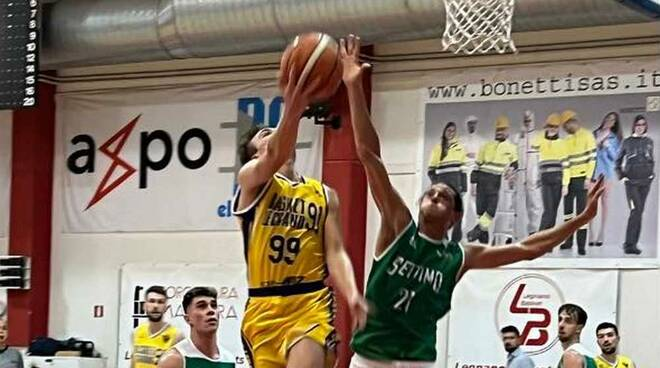 Wiz Basket Legnano - Settimo Basket