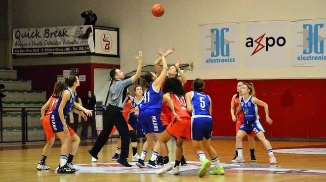 Bulldog Basket Canegrate - BFM Milano 55-40