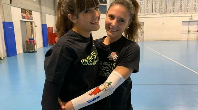 Chiara Marini e Chiara Lenna