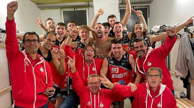 Omnia Basket Pavia-Knights Legnano 83-87